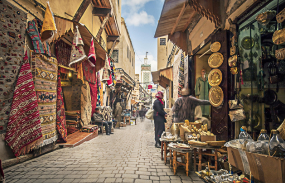 Moroccan Cities and Rugs