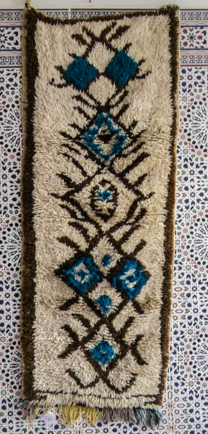 C08# Area Rug Azila carpet berber Moroccan carpet Handmade vintage unique handcrafted flooring decorative rug home living art decor