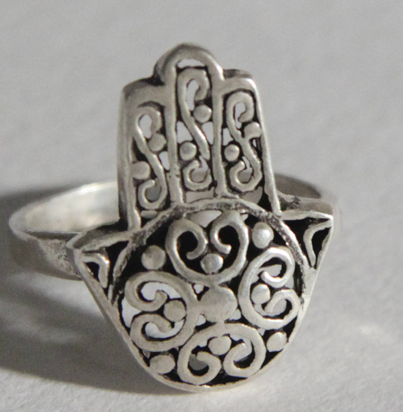 Berber Silver ring jewelry