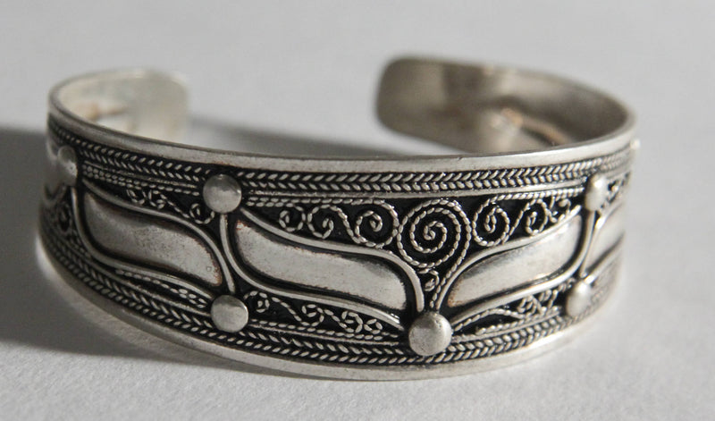 berber antiques BRACELET berber silver algerian cuff tribal fusion berber jewelry Berber tribal art african jewelry SI19 vintage copy2