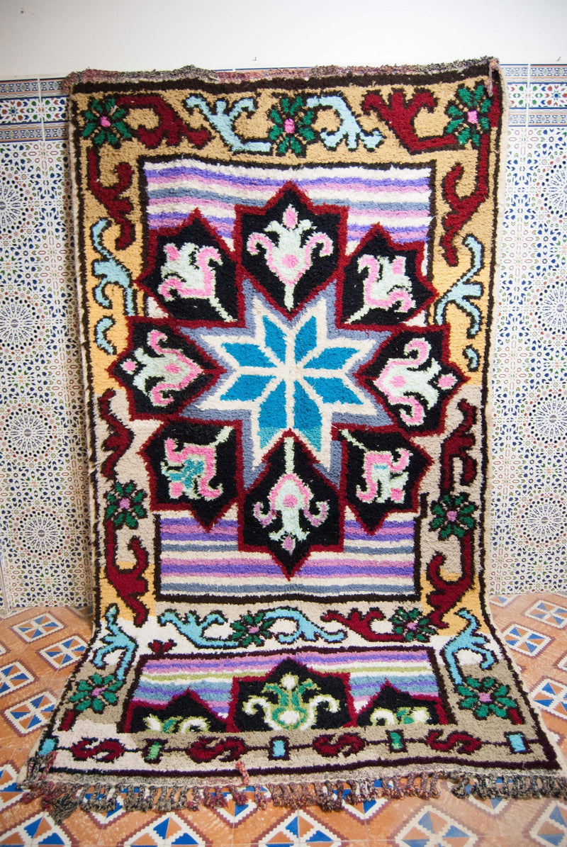 Amastan  azilal rug , tapis berbere , moroccan rugs ,tapis marocain , berber teppich - HammoudRugs