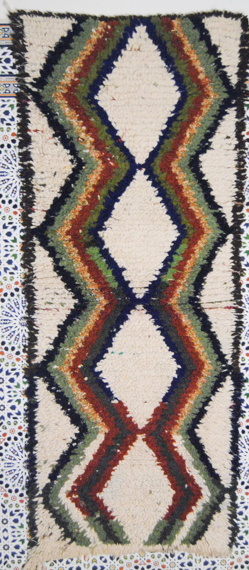 Azilal rug, The Stunning Moroccan Berber carpet.