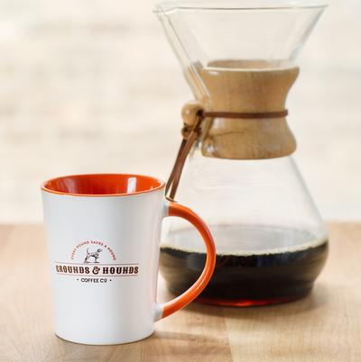 "Grounds & Hounds Coffee Co.: ""My"" Mug"