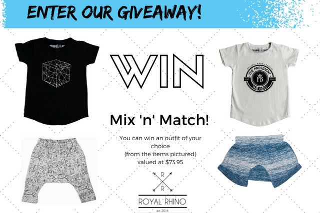 NOW CLOSED {Giveaway}! Win an outfit of your choice valued at $73.95!!