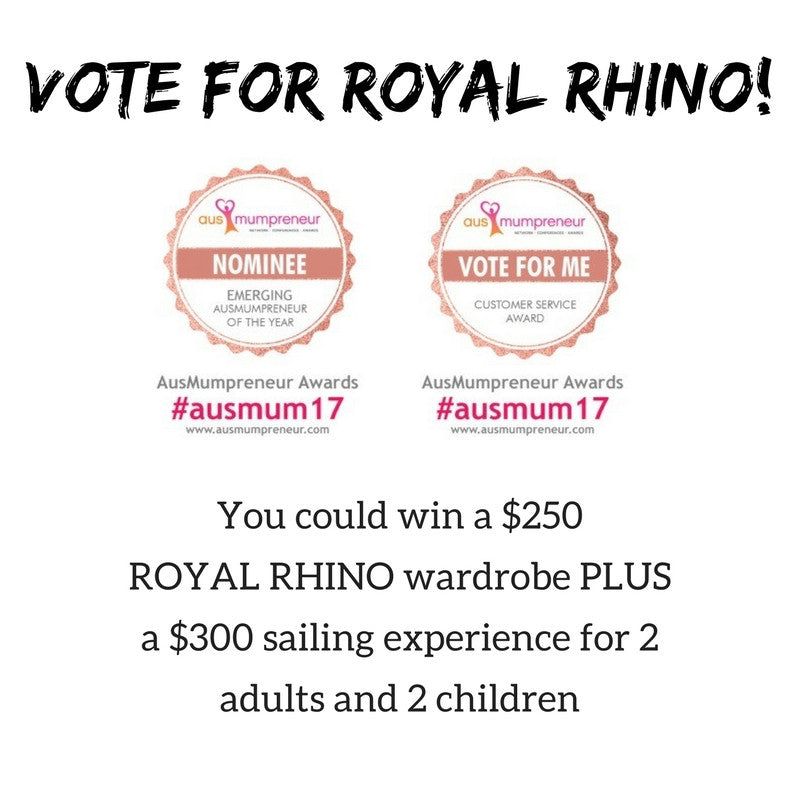 ROYAL RHINO nominated in the AusMumpreneur Awards 2017