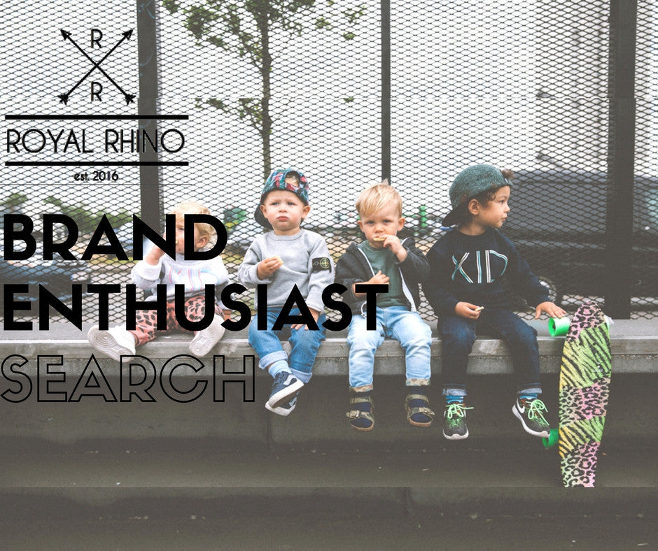 The ROYAL RHINO Brand Enthusiast Search is on!