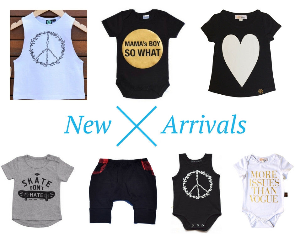 New arrivals featuring Little Lords and Kit and Krew