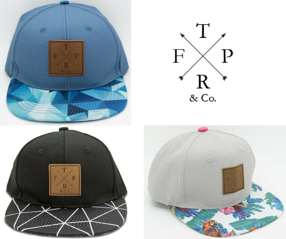 TFPR & Co trendy snapbacks for kids and adults now at ROYAL RHINO