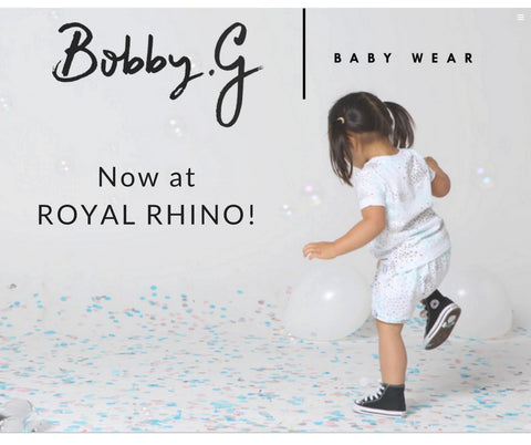royal rhino bobby g babywear trendy kids clothes for toddlers boys and girls