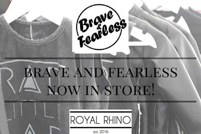 brave and fearless www.royalrhino.com.au trendy cool fashion kids