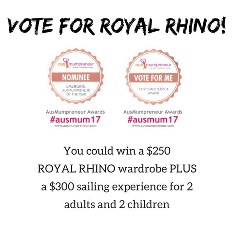 royal rhino ausmumpreneur awards 2017