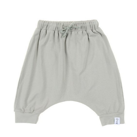 Softened Green Harem Shorts