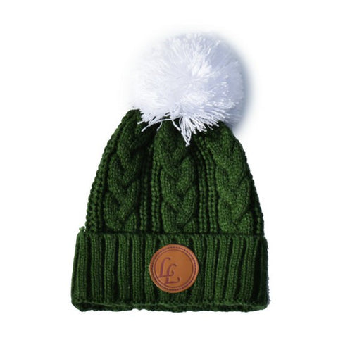 hunter green knit beanie cool baby royal rhino little lords