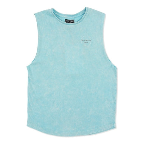 indie kids aqua muscle tank royal rhino