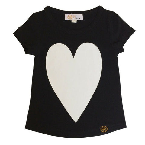 kit and krew heart dipped tee royal rhino