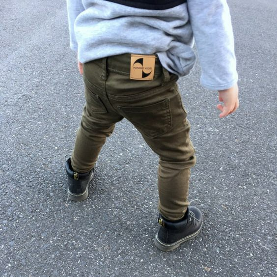 Krome Kids khaki jeans royal rhino toddler