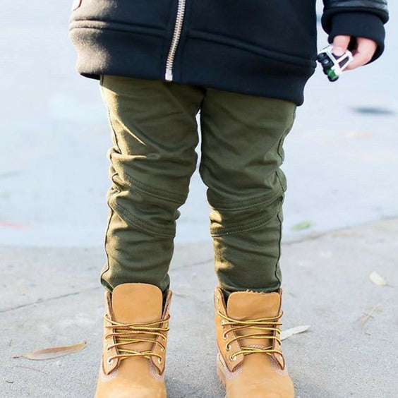 Krome Kids khaki jeans royal rhino urban