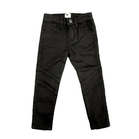 Krome Kids jet black jeans royal rhino