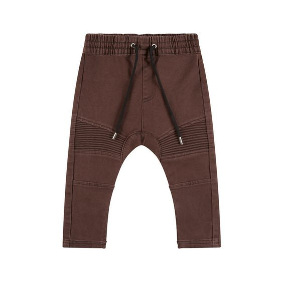 russet biker jogger denim adam yve cool pants royal rhino