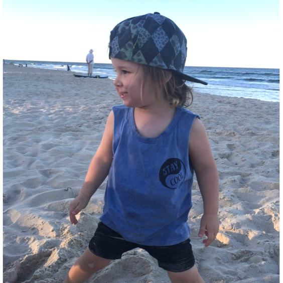 stay-cool-muscle-tee-royal-rhino-brave-and-fearless-kids-surf-adults-model-front