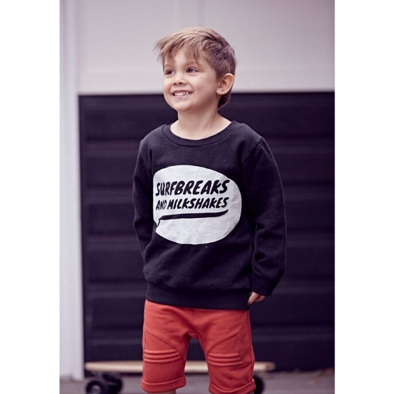 Surfbreaks and Milkshakes Fleece Jumper