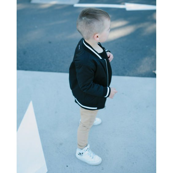 vegas bomber jacket kids style adam yve royal rhino