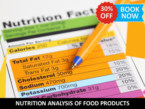 Nutrition Analysis of Food Products