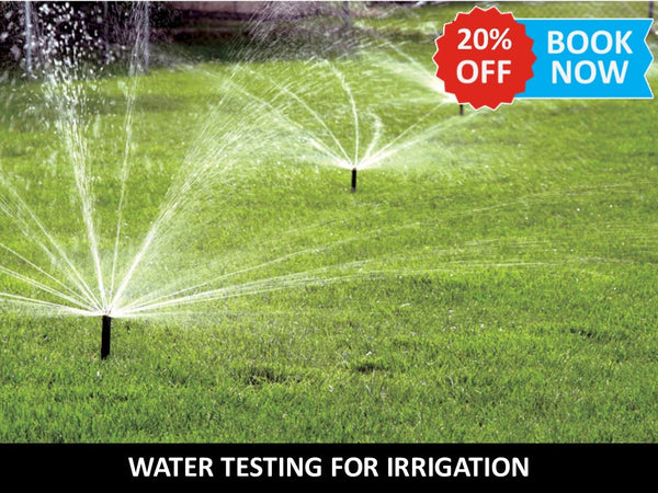 Water Testing for Irrigation