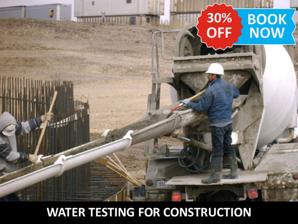 Water Testing for Construction