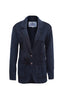 Well-Dressed Relazed Blazer in Dark Blue. Piece of Blue