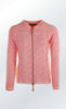 Cool and Feminine Cardigan for Women in Coral from Piece of Blue
