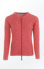Cool and Feminine Cardigan for Women in Red from  Piece of Blue