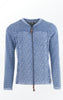 Cool and Feminine Cardigan for Women in Light Indigo Blue from Piece of Blue