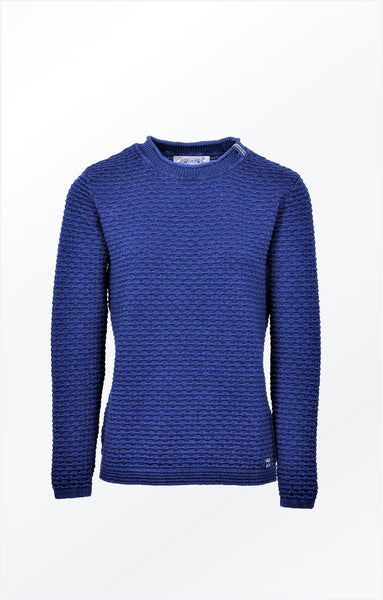FEMININE AND ELEGANT PULLOVER -  DARK INDIGO BLUE