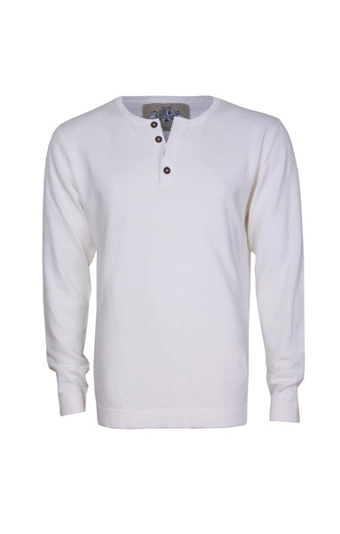 HENLEY - CREAM WHITE