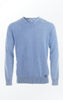 Classic and Simple V-neck Pullover for Men from Piece of Blue