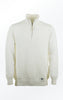 Basic half-zip Pullover in cream White for Men from Piece of Blue