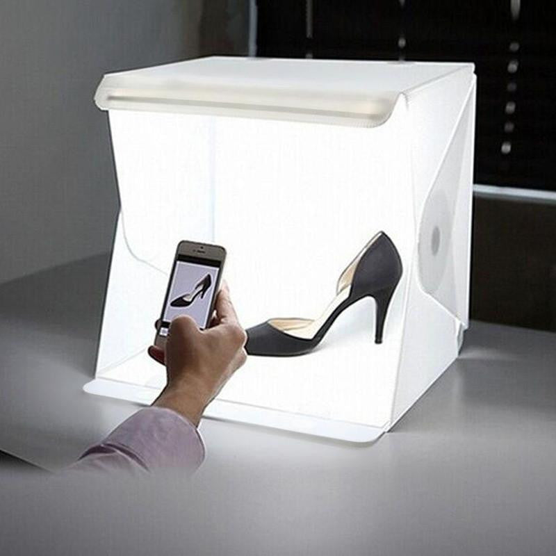 portable led studio photo box. Black Bedroom Furniture Sets. Home Design Ideas