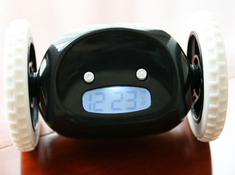 LCD Display Running Alarm Clock
