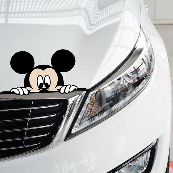 Mickey minnie mouse car decals