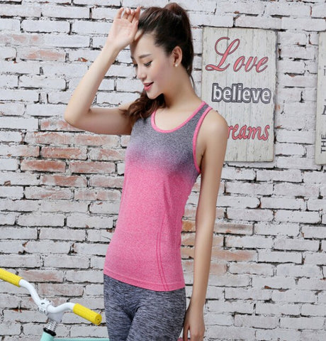 Apparel - Gradient Colour Yoga Shirts