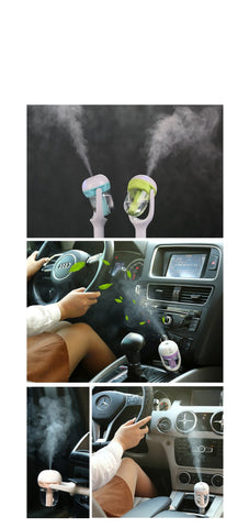 Aromatherapy Products - Air Purifier /  Humidifier For Car