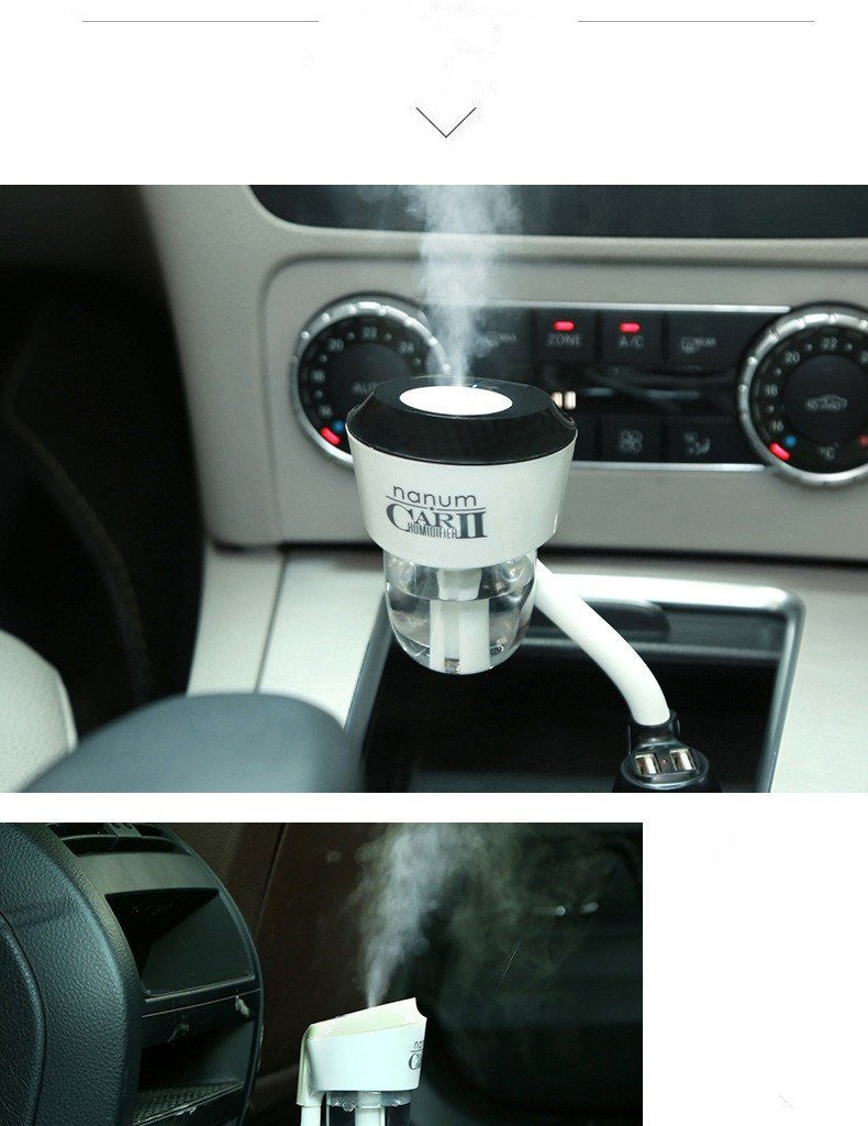 Aromatherapy Products - Air Purifier / Humidifier For Car Version 2