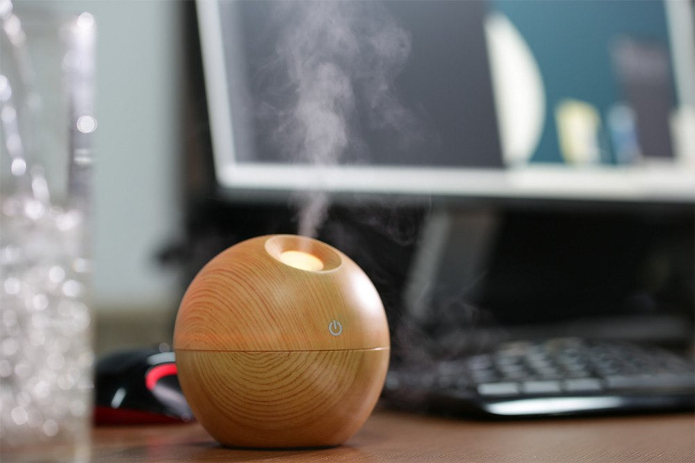 Aromatherapy Products - Ultrasonic Mini Portable Aroma Humidifier