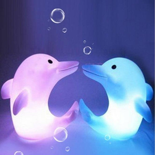 Home Decor - Dolphin LED Night Light Lamp (7 Colors Changing)