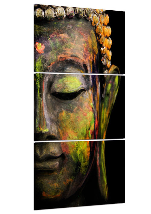 Home Decor - Limited Edition Buddha Nature 3 Piece Canvas