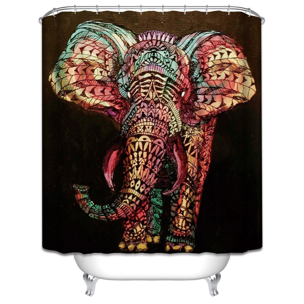 Home Decor - NEW Nova Elephant Shower Curtain