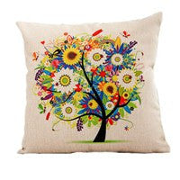 Home Decor - Tree Of Life Pillow Case