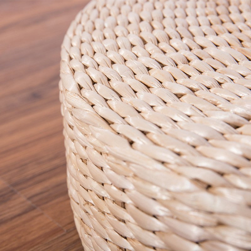 Home Decor - Wooden Pouf