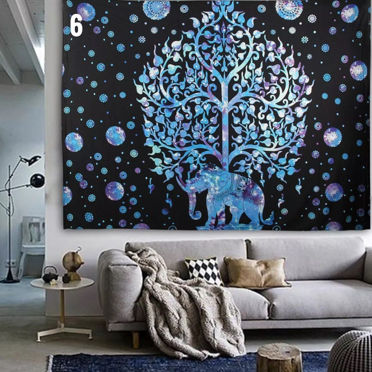 Elephant mandala tapestry limited edition - Decoracion para paredes ...